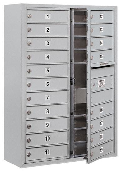 3711D19 Surface Mount Commercial 4C Mailboxes