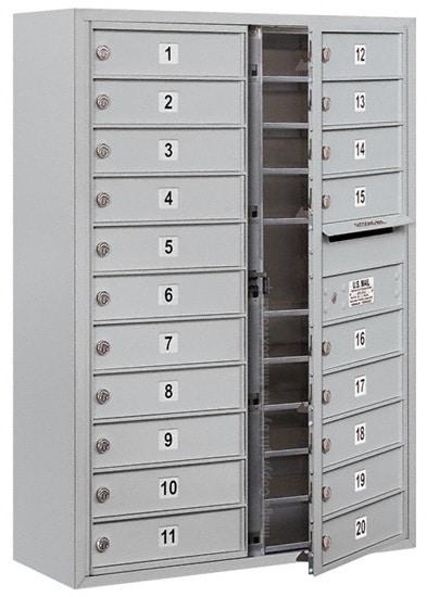 3711D20 Surface Mount Commercial 4C Mailboxes