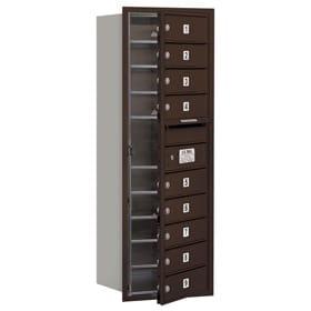 Salsbury 4C Mailboxes 3711S-09 Bronze