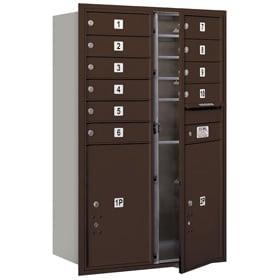 Salsbury 4C Mailboxes 3712D-10 Bronze