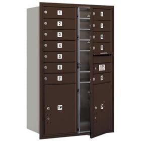 Salsbury 4C Mailboxes 3712D-12 Bronze