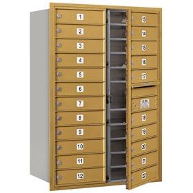 Salsbury 4C Mailboxes 3712D-22 Gold