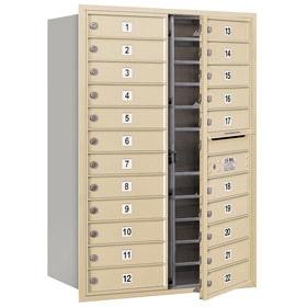 Salsbury 4C Mailboxes 3712D-22 Sandstone