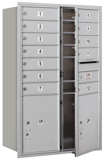 3712D12 Front Loading Commercial 4C Mailboxes