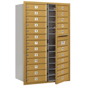 Salsbury 4C Mailboxes 3713D-24 Gold