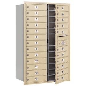 Salsbury 4C Mailboxes 3713D-24 Sandstone