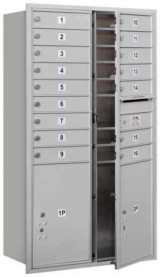 3715D16 Front Loading Commercial 4C Mailboxes