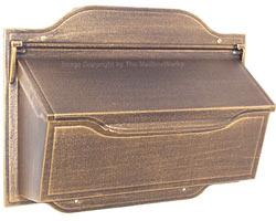 Special Lite Contemporary Horizontal Mailbox Bronze