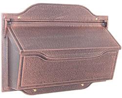 Special Lite Contemporary Horizontal Mailbox Copper