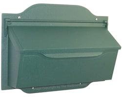 Special Lite Contemporary Horizontal Mailbox Evergreen