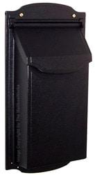 Special Lite Contemporary Vertical Mailbox Black