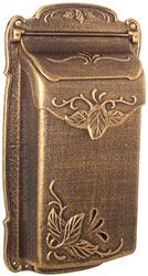 Special Lite Floral Vertical Mailbox Bronze