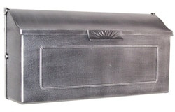 Special Lite Horizon Mailbox Silver