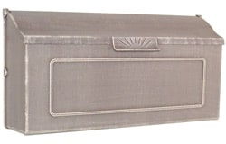 Special Lite Horizon Mailbox Frosted Umber