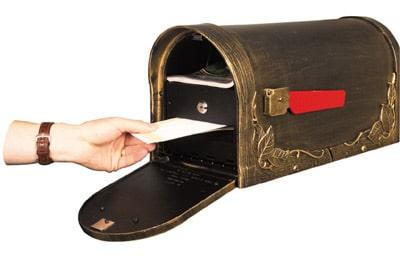 special lite locking insert - Lockable Mailbox