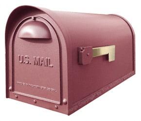 Special Lite Classic Mailbox Burgundy