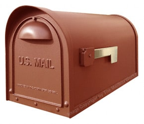 Special Lite Products Classic Mailbox Copper