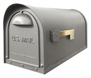 Special Lite Products Classic Mailbox Gunmetal