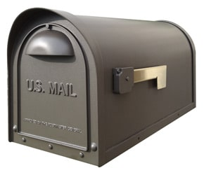 Special Lite Products Classic Mailbox Mocha