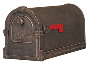 Special Lite Savannah Mailboxes Copper