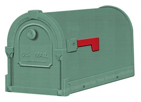 Special Lite Savannah Mailboxes Evergreen