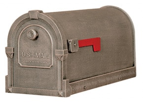 Special Lite Savannah Mailboxes Frosted Umber