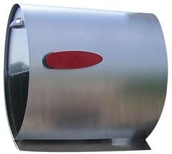 Spira Post Mount Mailbox Stainless Steel