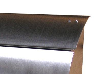 Helix Spira Wall Mount Mailbox Details