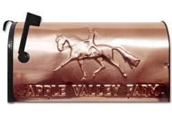 Still River Copper Mailbox Dressage Horse
