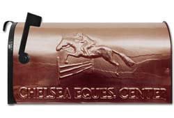 Still River Copper Mailbox Fox Hunter