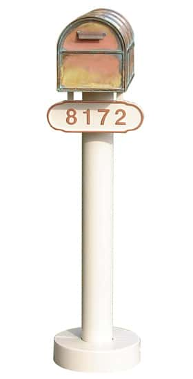 Westchester Locking Mailbox And Basic Post