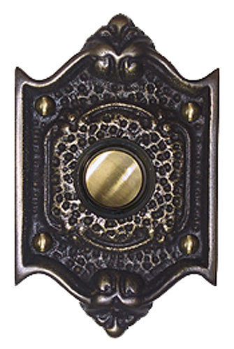 Waterglass Studios Craftsman Brass Door Bell