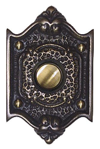 Waterglass Studios Craftsman Brass Door Bell