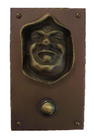 Waterglass Studios Franciscan Brass Door Bell