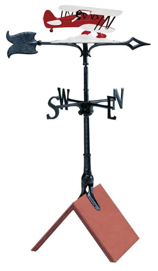 Whitehall 30 Inch Airplane Color Weathervane