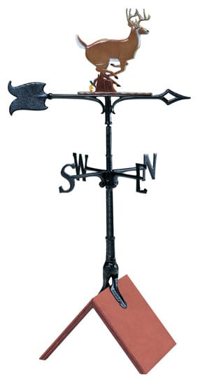 Whitehall 30 Inch Buck Color Weathervane