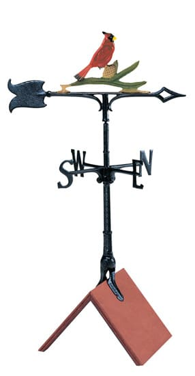Whitehall 30 Inch Cardinal Color Weathervane