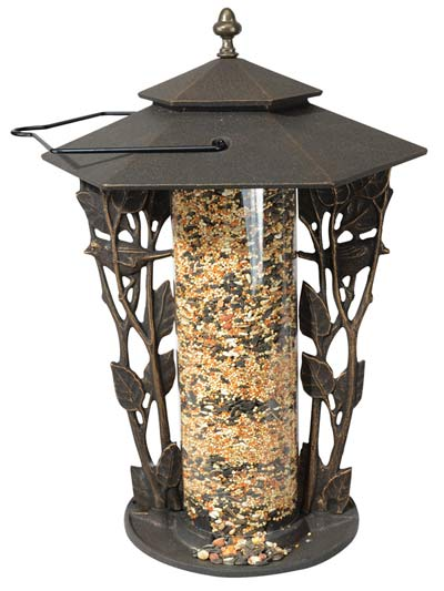 Whitehall Chickadee Silhouette Bird Feeder