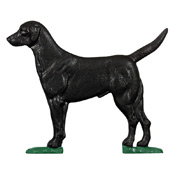 Whitehall Country Bell Black Lab Topper