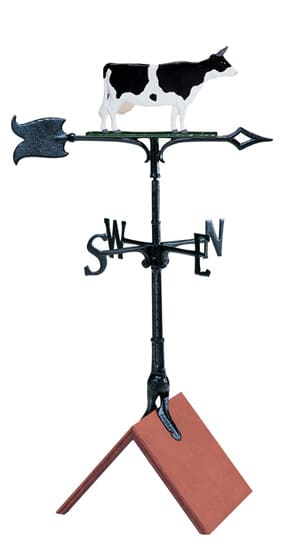 Whitehall 30 Inch Cow Color Weathervane
