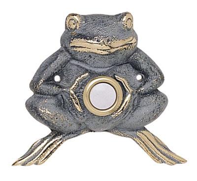 Whitehall Froggie Solid Brass Door Bell