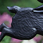 Whitehall Garden Weathervane Black