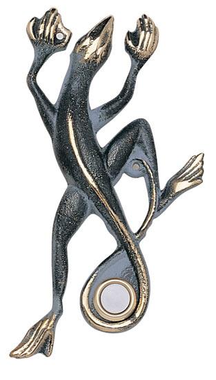 Whitehall Gecko Solid Brass Door Bell