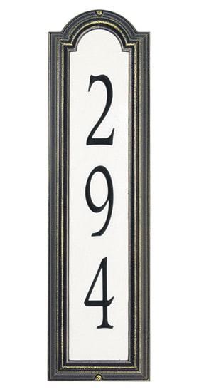 Whitehall Manchester Vertical Reflective Standard Plaque
