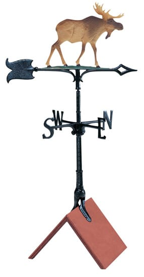 Whitehall 30 Inch Moose Color Weathervane