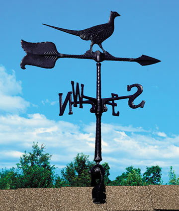 Whitehall 24 Inch Pheasant Accent Weathervane