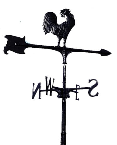 Whitehall Rooster Accent Weathervane
