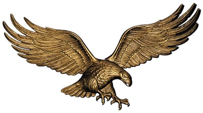 Whitehall 29 Inch Wall Eagle