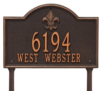 Whitehall Bayou Vista Lawn Marker
