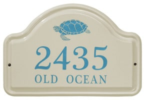 Whitehall Turtle Arch Plaque Sea Blue